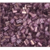 Rectangle Beads 5X2.6mm Square Hole Purple Luster